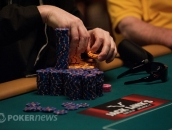 Phil Hellmuth Stacks Chips