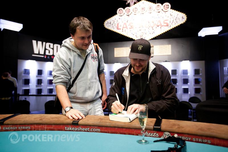 Phil Hellmuth and Max Pescatori