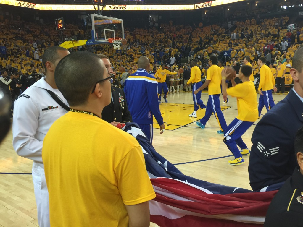 warriors pregame 2